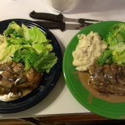 Pork and Portabella Mushroom Sauce