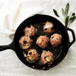 Pork and Sage Meatballs