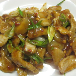Pork Asian Green Stir Fry