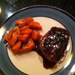 Pork Chops in Balsamic Glaze