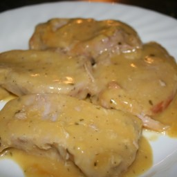 Pork Chops with Cream of Chick/Mushroom