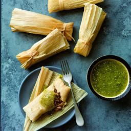 Pork & Green Chile Tamales
