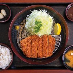 Pork Katsu & Miso Soup