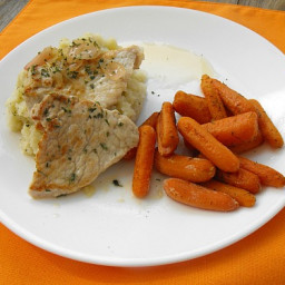 Pork Medallions with Lemon Shallot Sauce