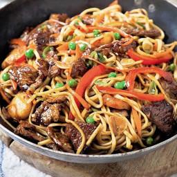 Pork: pork chow mein