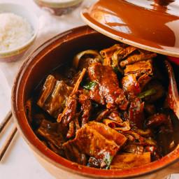Pork Rib Stew with Foo Jook and Chee Hou Sauce