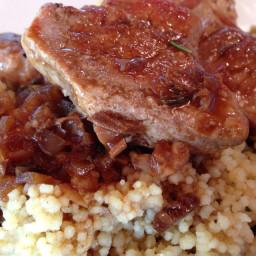 Pork Tenderloin- Porcini Mushroom Sauce