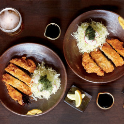 Pork Tonkatsu with Shiso