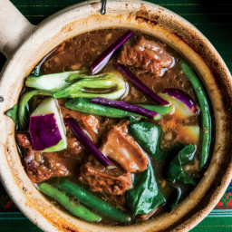 Pork, Vegetable, and Tamarind Stew