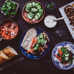 Pork Vietnamese Style Sandwich (Banh Mi)