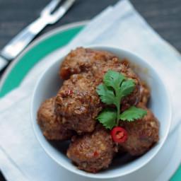 Pork Vindaloo Meatball Recipe – Low Carb and Gluten Free