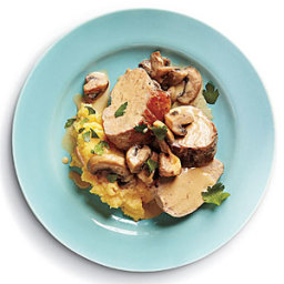 Pork Tenderloin with Mushroom Sauce