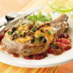 Portobello Pork Chops