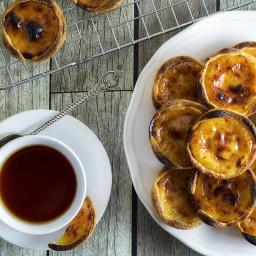 Portuguese Egg Tarts (Pastel de Nata) Recipe