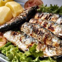 Portuguese Grilled Sardines Recipe