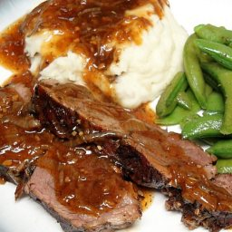Pot Roast in Onion Gravy