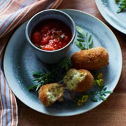 Potato-and-Mozzarella Croquettes