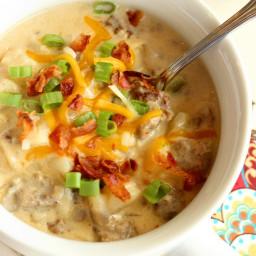Potato and Sausage Soup