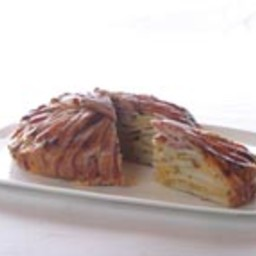 Potato Bacon Cheddar Tart (By Michael Smith)