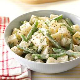 Potato-Bean Salad with Herb Dressing Recipe