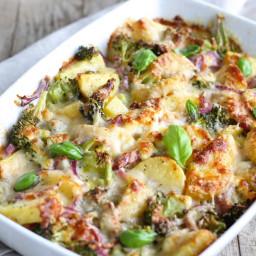 Potato & Broccoli Gratin