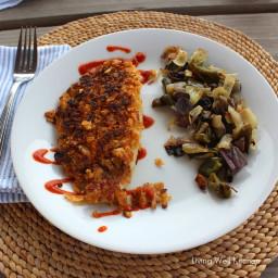 Potato Chip Crusted Fish
