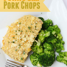 Potato Chip Pork Chops