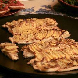 Potato-Crusted Chilean Sea Bass