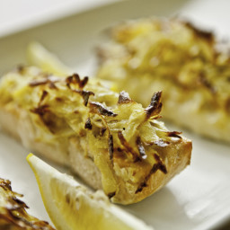 Potato-Crusted Tilapia with Dill Cream