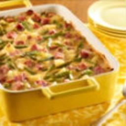 Potato Green Beans & Ham Bake