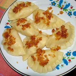 Pierogi Potato Dumpling - eggless