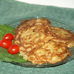 Potato Latkes (Pancakes)