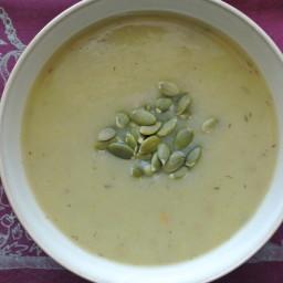 Potato Leek Soup (gluten-free, dairy-free, vegan)