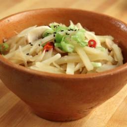 Potato & Mushroom Side Dish