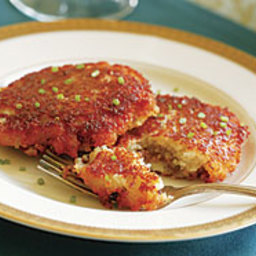 Potato Pancakes Stuffed with Duxelles