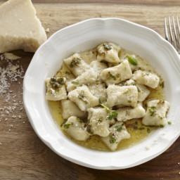 Potato & Ricotta Gnocchi with Brown Butter Sage Sauce Recipe