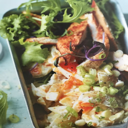 Potato Salad With Butterfly Chicken