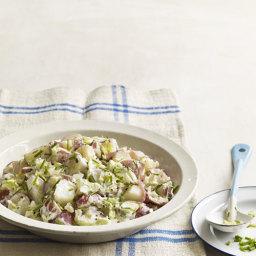 Potato Salad with Crème Fraîche