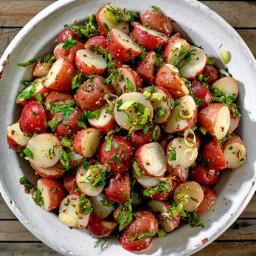 Potato Salad With Dijon Vinaigrette
