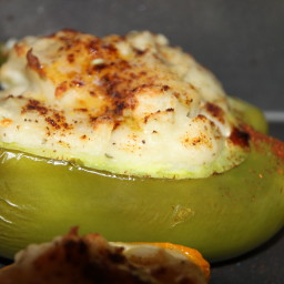 Potato-Stuffed Bell Peppers