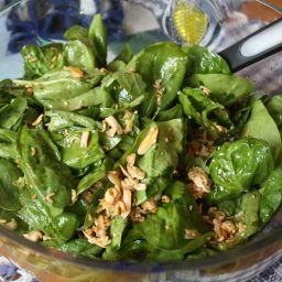 Potluck Spinach Salad