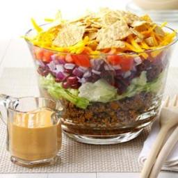 Potluck Taco Salad Recipe