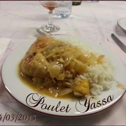 Poulet yassa de belle maman (sénégal)