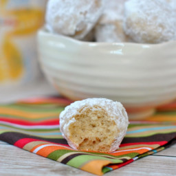 Powdered Sugar Donut Holes