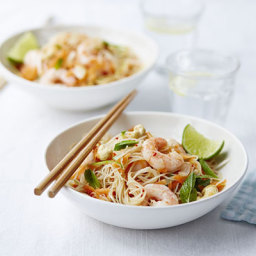 Prawn and lime noodles