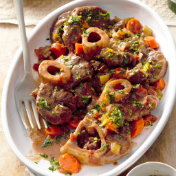 Pressure Cooker Beef Osso Bucco