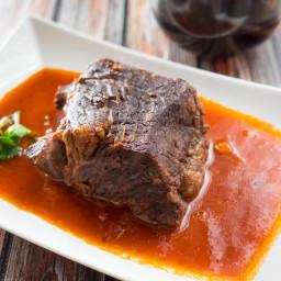 Pressure Cooker Beef Pot Roast