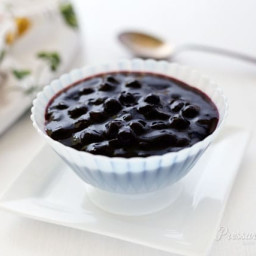 Pressure Cooker Blueberry Compote