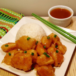 Pressure Cooker Chinese Take-Out Sweet 'N Sour Chicken