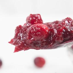 Pressure Cooker Cranberry Sauce